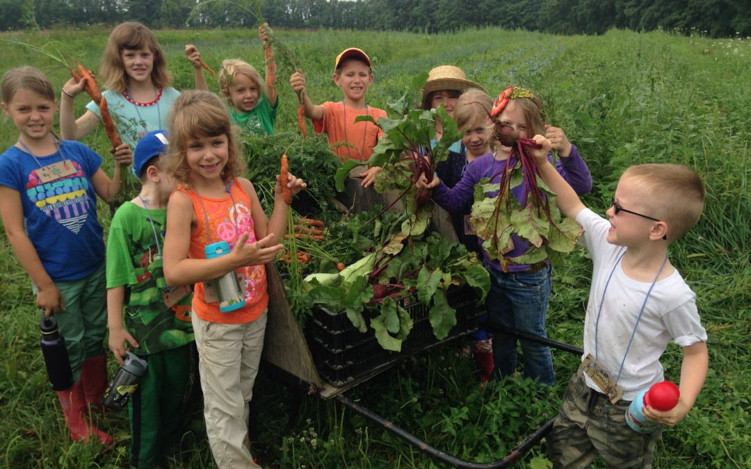 Enroll Now in 2014 Kids' Farm Camp