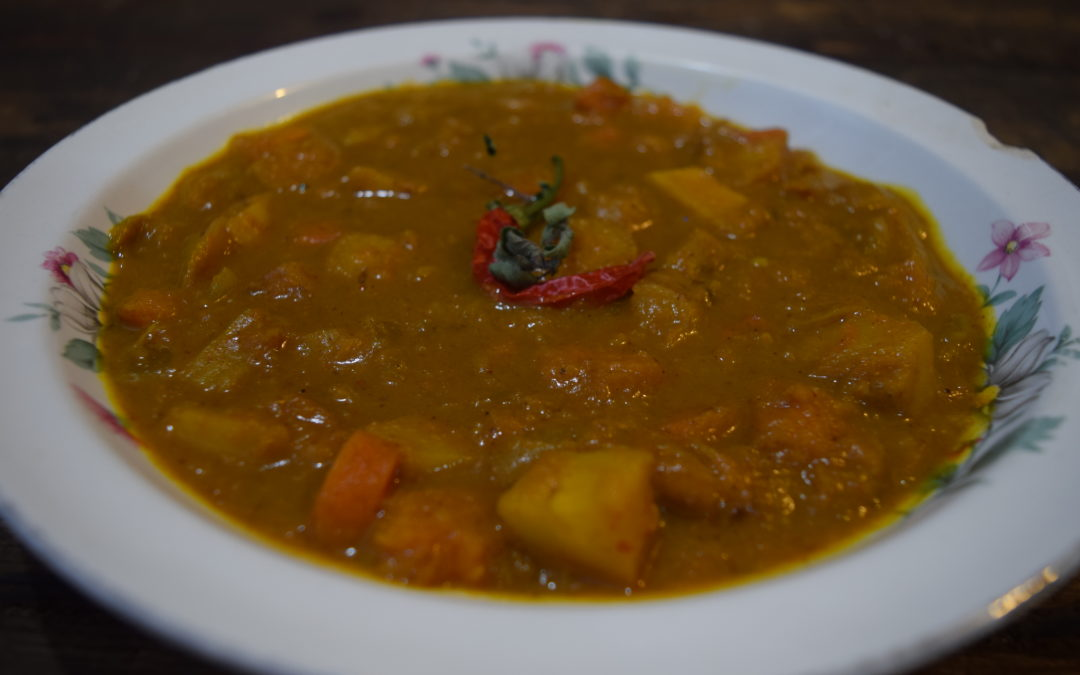 Butternut Parsnip Coconut Curry